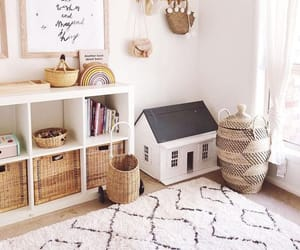 bedroom, children, and decor image