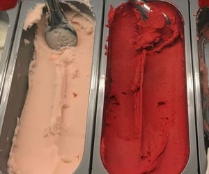 eat, ice cream, and food image
