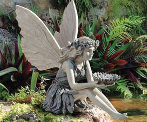 fairy and gardens image