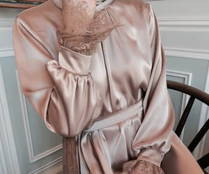 dress, modest fashion, and fashion image