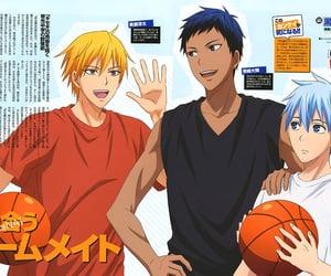 anime, kuroko no basket, and kise ryota image