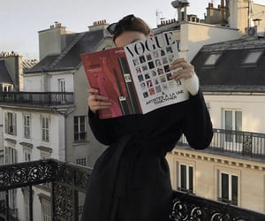 paris, vogue, and city image
