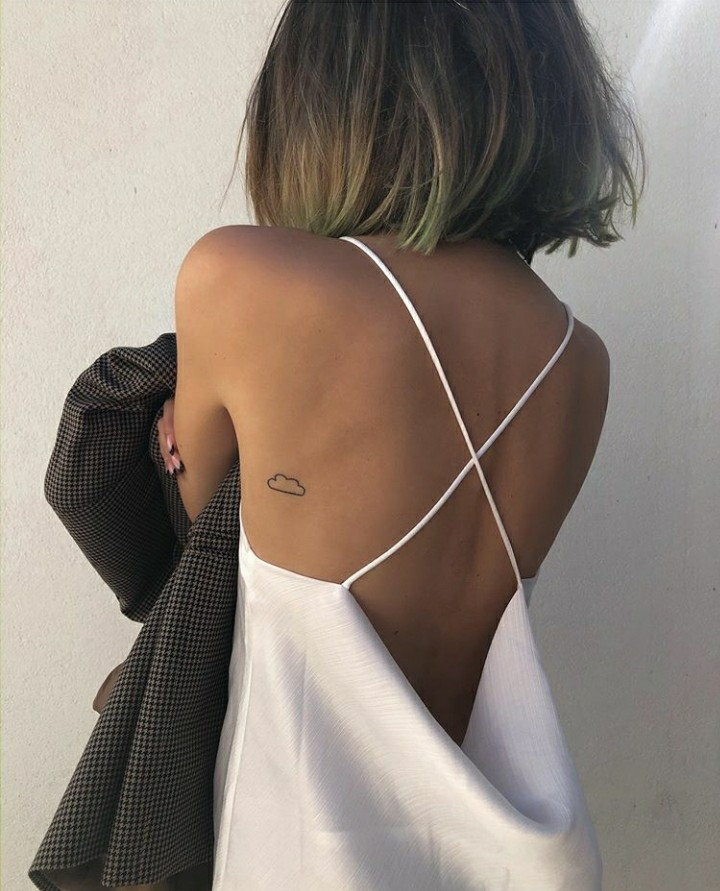 dress, tattoo, and fashion image