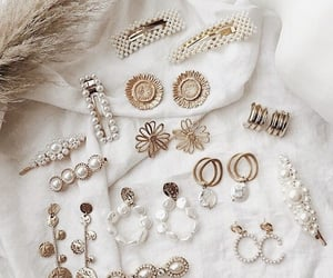 accessories, earrings, and nails image