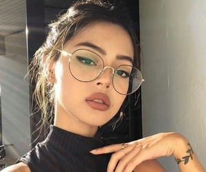 black, glasses, and summer image