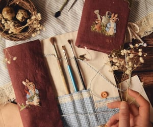 bag, painting, and classic image