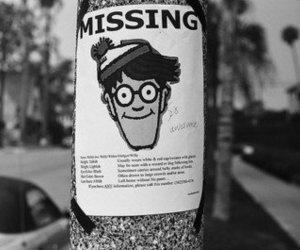 missing, wally, and Waldo image