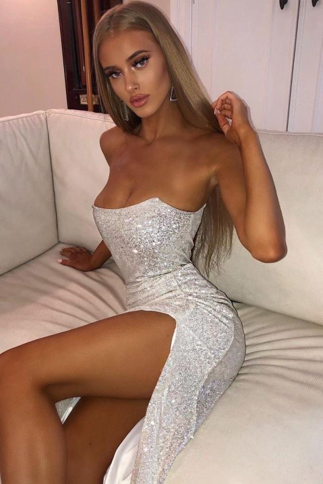 dress, girl, and girls night image