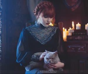 beauty, dark, and decor image