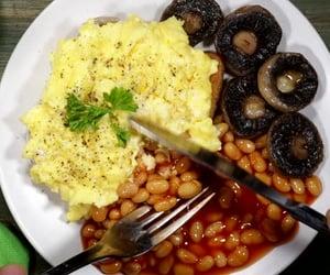 breakfast, british, and eggs image