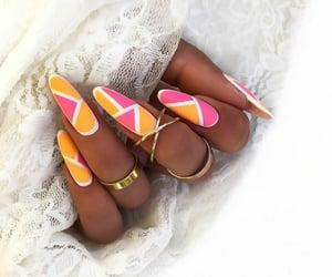 beauty, matte, and orange image