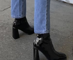 aesthetic, boot, and high heel image