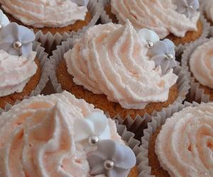 baking, cake, and pink image