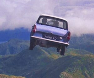 chamber of secrets, harry potter, and ford anglia image