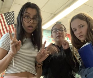 corona, homework, and teens image