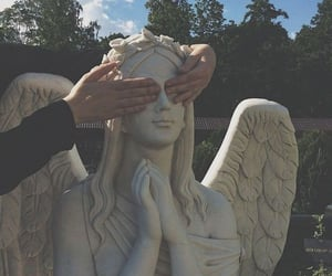 angel, aesthetic, and grunge image