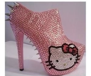 beauty, bling, and platforms image