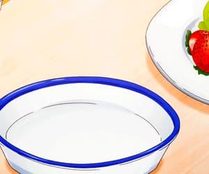 gif, anime scenery, and anime tea image