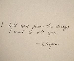 quotes, chopin, and piano image