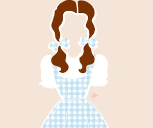 aesthetic, illustration, and Wizard of oz image