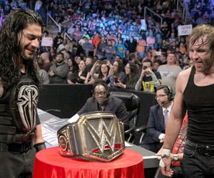 wwe, roman reigns, and the shield image