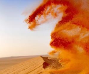 orange and desert image