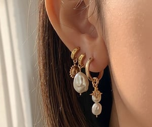 accesories, jewelry, and ear image