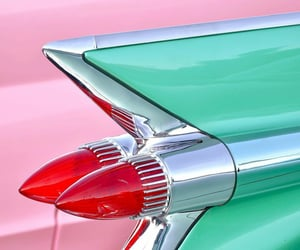 50s, automobiles, and caddy image