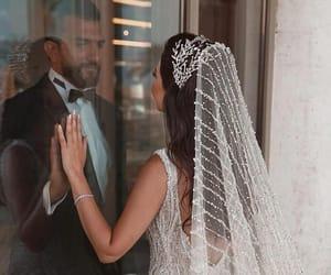 bride, wedding, and fashion image