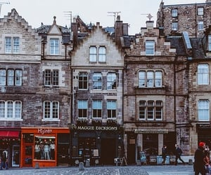 scotland, city, and edinburgh image