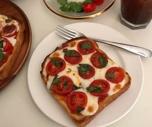 food, aesthetic, and toast image