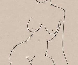 art, artwork, and body image