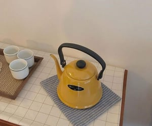 aesthetic, kettle, and kitchen image