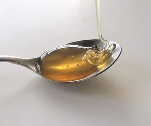 honey, aesthetic, and spoon image