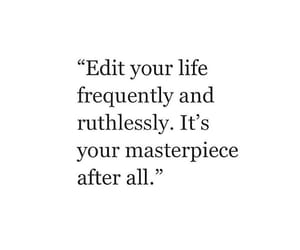 quotes, life, and masterpiece image