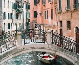 amore, travel, and venezia image