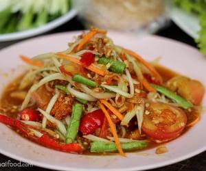 salad, thai food, and asian food image