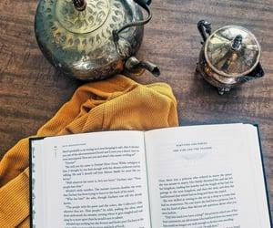 antique, autumn, and book image