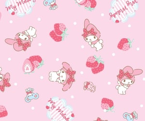 aesthetic, my melody, and pink image
