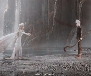 animation, jack frost, and elsa image