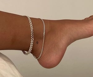tattoo, anklet, and jewellery image