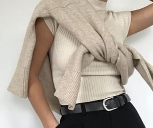 fashion, belt, and beige image