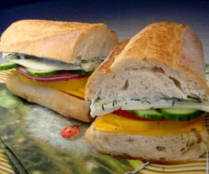 baguette, food, and foods image