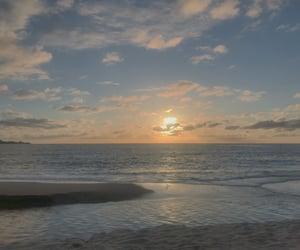 beach, blue, and california image