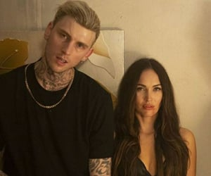 iconic, megan fox, and ️mgk image
