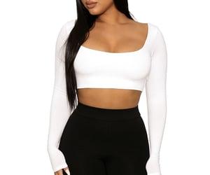black, short, and fashion image