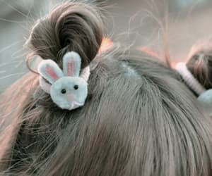 hair, bunny, and japan image