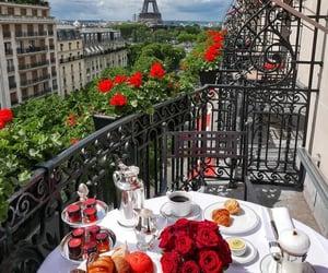 paris, breakfast, and disney image