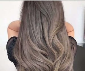 dyed hair, hair, and hair style image