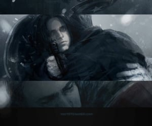 art, captain america, and winter soldier image
